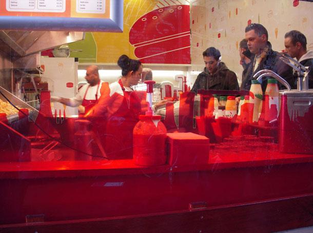 Burger Bar Amsterdam Hamburgerstore