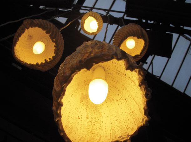 Studio Barbara Vos | Scarf Lamp