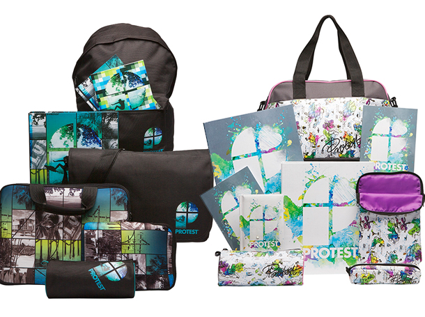 Studio Barbara Vos | Design Protest boys and girls bags and pencilcases 2012 Back to school for New Edition