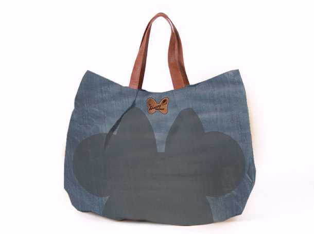 Studio Barbara Vos   Disney Minnie Bag Denim for ITC