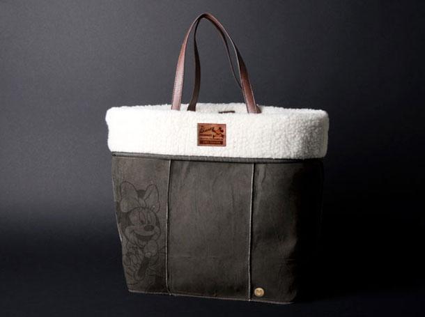 Studio Barbara Vos   Disney Minnie Bag Suede grey for ITC