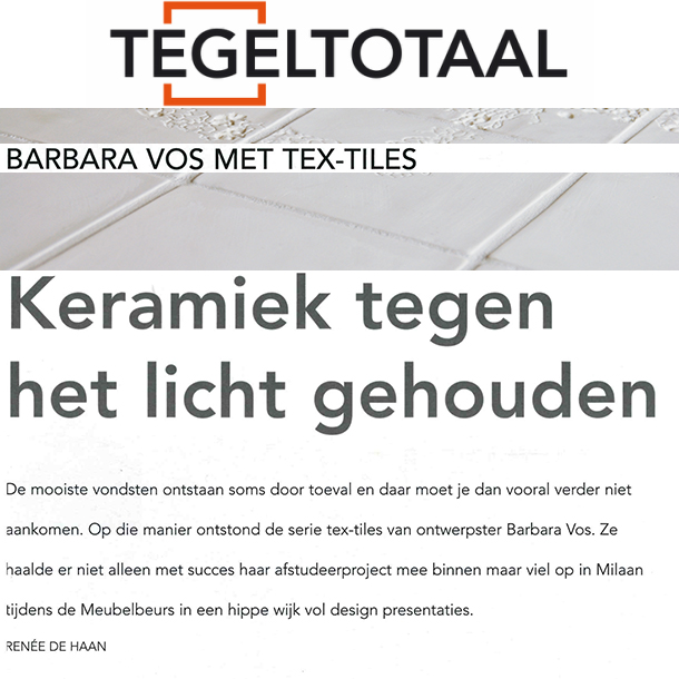 Studio Barbara Vos | Tegeltotaal