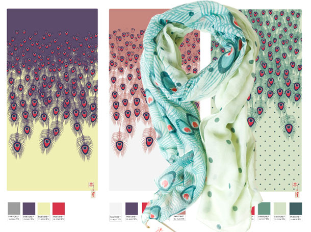 Studio Barbara Vos | Summer scarf