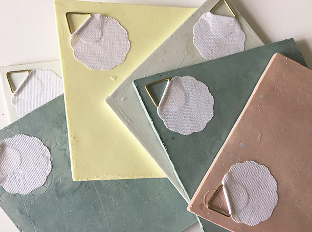 Diamond shape tiles - Studio Barbara Vos