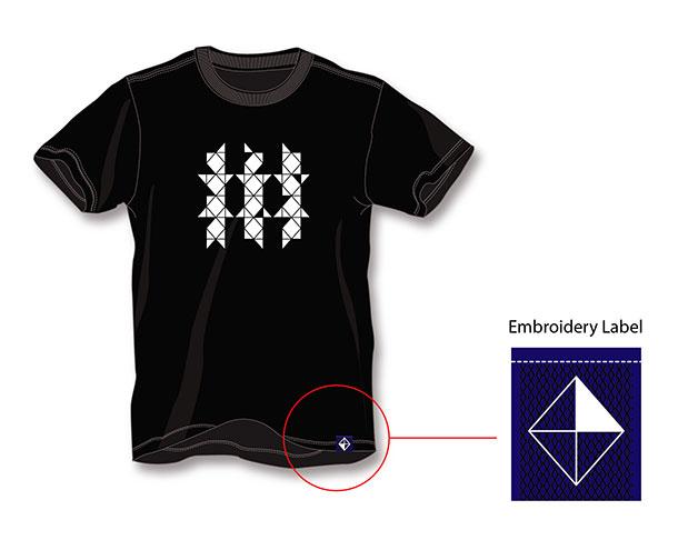 T-shirt De Besturing | Studio Barbara Vos
