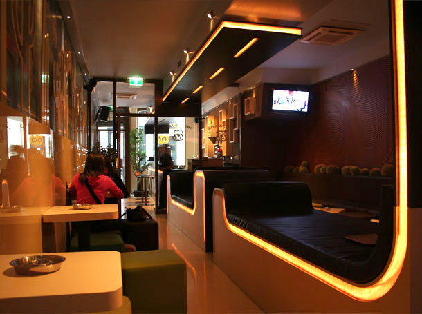 coffeeshop amsterdam interior design route 66