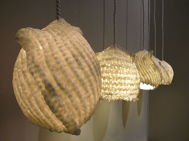 Studio Barbara Vos   Scarf Lamp