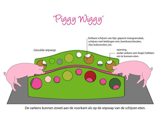 Studio Barbara Vos - Piggy Wiggy varkenswipwap wipwap wip wap pigs toys