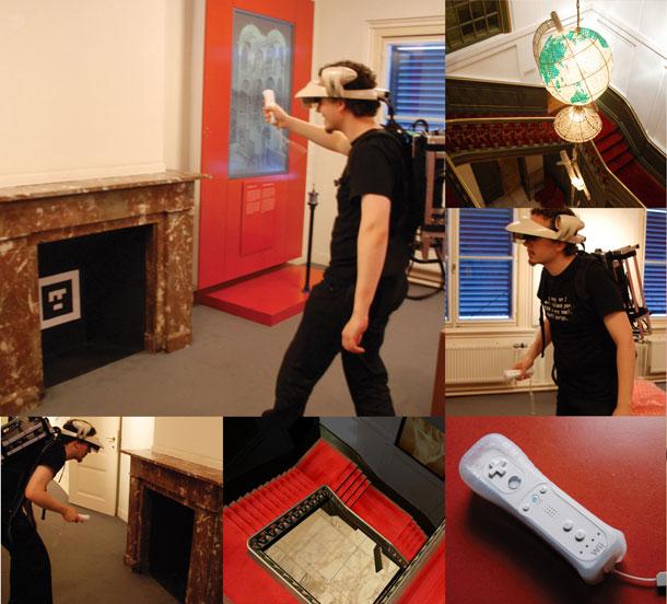 Technarte-Barbara-Vos-Bilbao-2009-augmented-reality-Escher-in-het-Paleis-Wormhole-Wiimote2