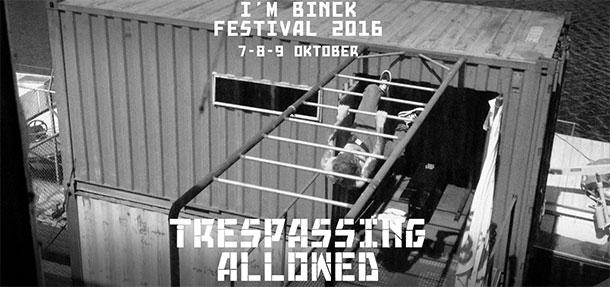 I'm Binck Festival 2016 | Studio Barbara Vos